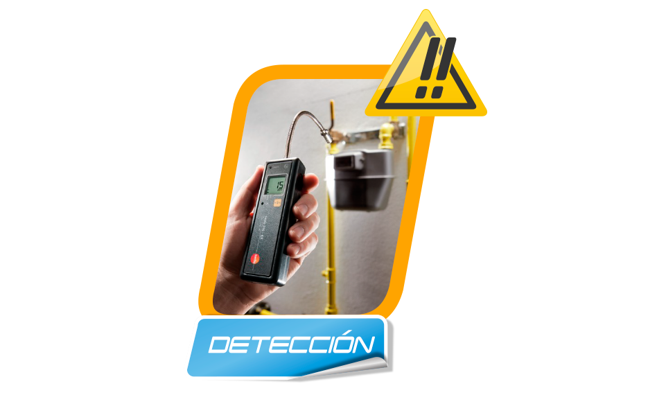 detección de fugas de gas en Madrid