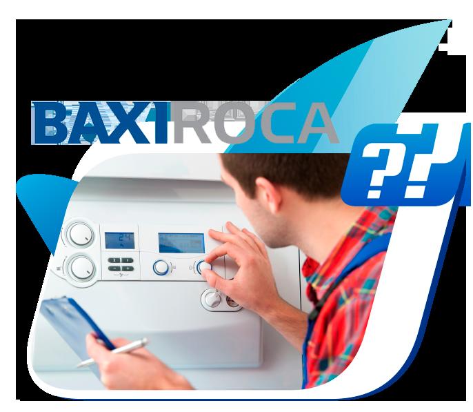 averias calderas BaxiRoca