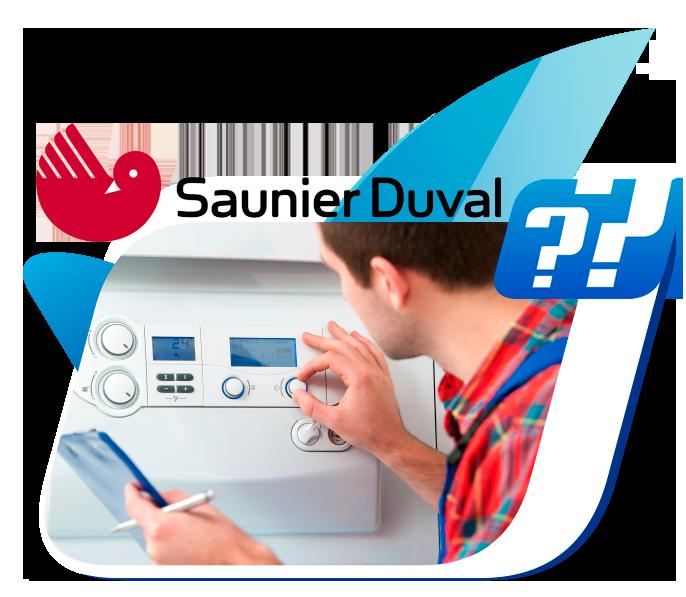 averías en calderas Saunier Duval