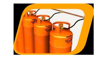 instalación de gas butano