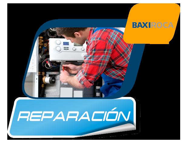 Reparación de calderas BaxiRoca