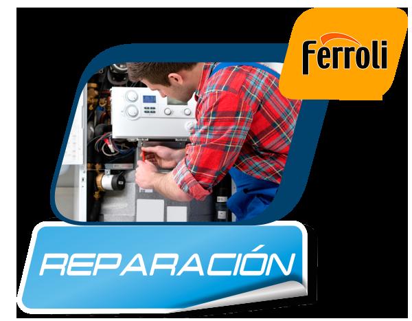 Reparación de calderas Ferroli