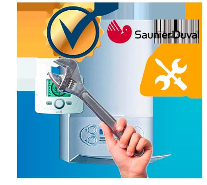 Servicio técnico Saunier Duval autorizado y certificado