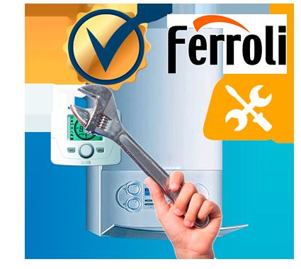 Servicio técnico autorizado de calderas Ferroli