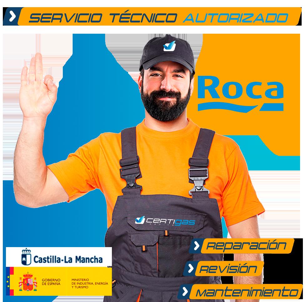 Servicio técnico calderas Roca en Toledo
