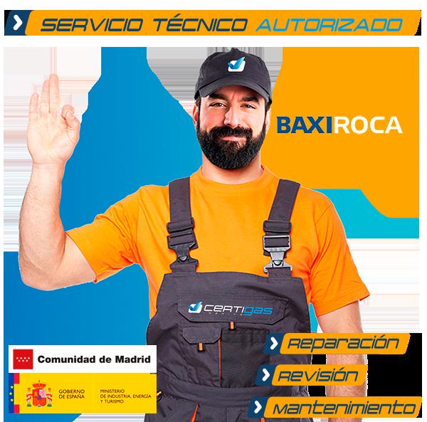 Servicio Técnico BaxiRoca en Madrid