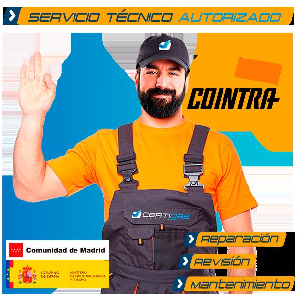 Servicio técnico calderas cointra en madrid