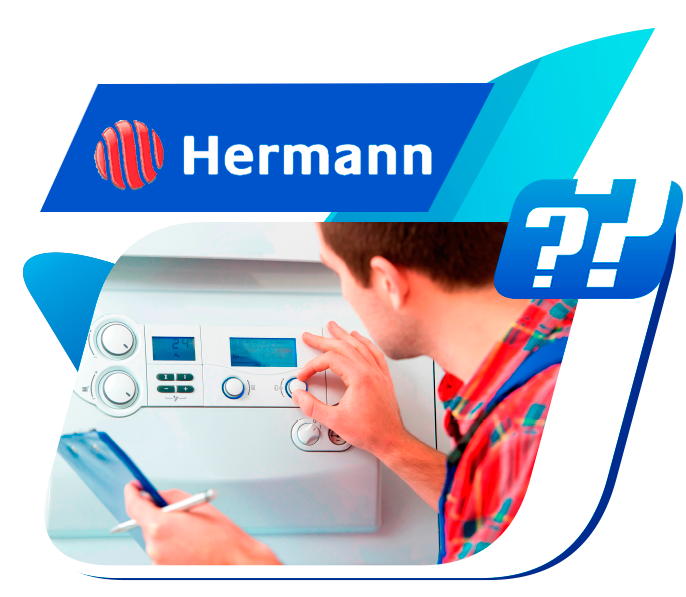 reparación de averías en calderas Hermann