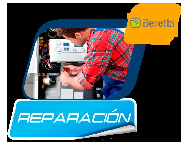 reparación de calderas Beretta en Madrid