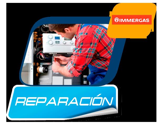 reparación de calderas Immergas en Madrid